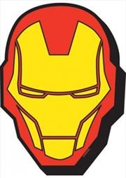 Marvel Iron Man Mask Icon Chunky Magnet