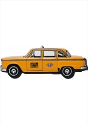 Yellow Taxi Cab Chunky Magnet
