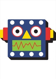 Robot Head Chunky Magnet | Merchandise