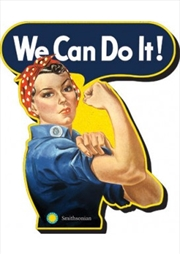 Rosie Riveter We Can Do It Chunky Magnet