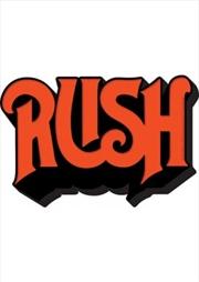 Rush Logo Chunky Magnet