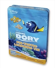 Disney Learning: Finding Dory: Fin-tastic Learning Tin | Hardback Book