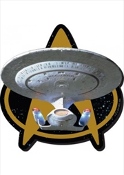 Star Trek Next Generation Ship Chunky Magnet