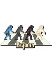 The Bigfoots Chunky Magnet
