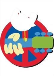 Woodstock Logo Chunky Magnet