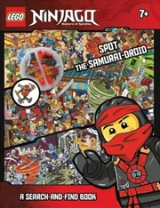 LEGO Ninjago Spot the Samurai-Droid A Search-and-Find Book | Hardback Book
