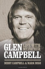 Life with My Father Glen Campbell   Hardback Book