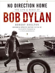 No Direction Home: The Life and Music of Bob Dylan   Hardback Book