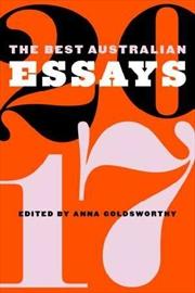 Best Australian Essays 2017