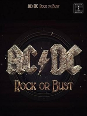 Acdc Rock Or Bust Tab | Paperback Book