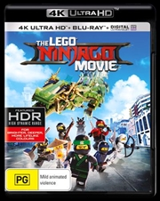 Lego Ninjago Movie | Blu-ray + UHD + UV, The