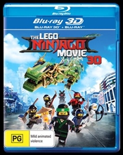 Lego Ninjago Movie | Blu-ray 3D