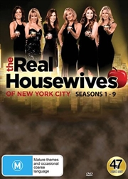 Real Housewives Of New York City - Season 1-9, The | DVD