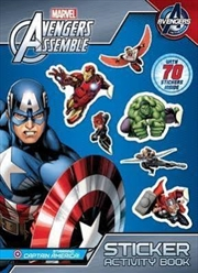 Avengers Assemble: Sticker and Activity Book (starring Captain America) | Paperback Book