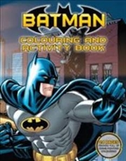 DC Comics: Batman Colouring and Activity Book | Paperback Book