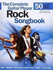 Complete Guitar Player: Rock Songbook   Paperback Book