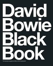 David Bowie Black Book | Paperback Book