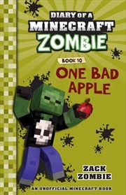 Diary of a Minecraft Zombie #10: One Bad Apple | Paperback Book