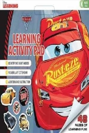 Disney Learning: Cars 3: Learning Activity Pad   Paperback Book