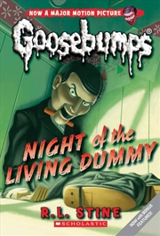 Goosebumps Classic: #1 Night of the Living Dummy | Paperback Book