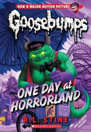 Goosebumps Classic: #5 One Day at Horror Land | Paperback Book