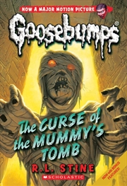 Goosebumps Classic: #6 Curse of the Mummy's Tomb | Paperback Book