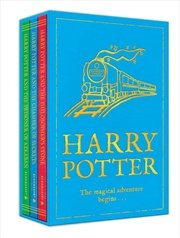 Harry Potter 1-3 Boxed Set The Magi | Paperback Book