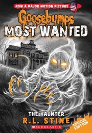 Goosebumps Most Wanted: The Haunter | Paperback Book