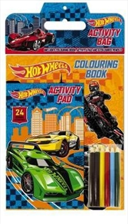 Hot Wheels Colouring Activity Bag