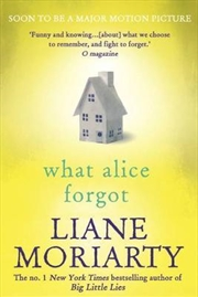 What Alice Forgot | Paperback Book