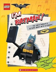 LEGO: The Batman Movie I'm Batman! | Paperback Book