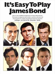 Its Easy To Play James Bond | Paperback Book