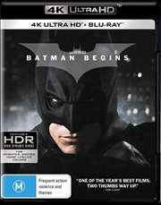 Batman Begins | Blu-ray + UHD