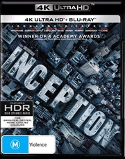 Inception | Blu-ray + UHD