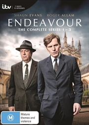 Endeavour - Series 1-3 - Limited Edition   Collection