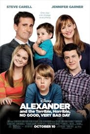 Alexander & The Terrible, Horrible, No Good, Very Bad Day | Blu-ray
