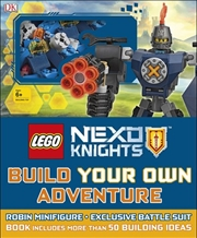 LEGO® Nexo Knights: Build Your Own Adventure | Paperback Book