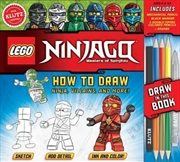 How to Draw Ninja, Villains and More! | Paperback Book