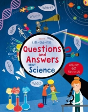Lift-The-Flap Questions And Answers About Science | Paperback Book