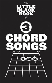 Little Black Book of 3 Chord Songs | Paperback Book