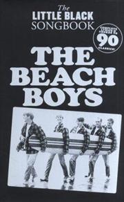 Little Black Songbook, The Beach Boys | Paperback Book