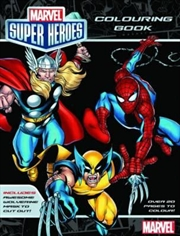 Marvel Super Heroes Colouring