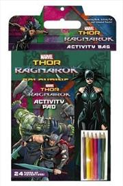 Thor: Ragnarok Marvel: Activity Bag | Paperback Book