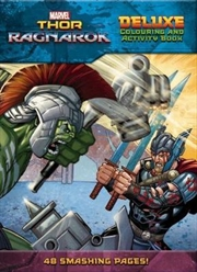 Marvel: Thor: Ragnarok Deluxe Colouring & Activity Book | Paperback Book