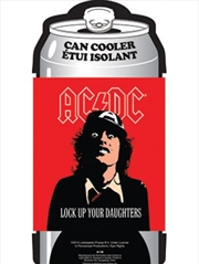 ACDC Lock Up Your Daughters Can Cooler | Accessories