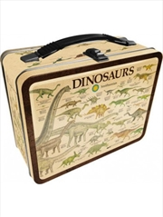 Smithsonian – Dinosaurs Tin Carry All Fun Box | Lunchbox