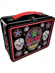 Sugar Skulls Black Fun Box