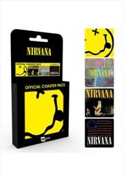 Nirvana Mix (Set of 4 cork based drinks coasters)