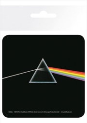 Pink Floyd Prism (Single cork based drinks coaster)