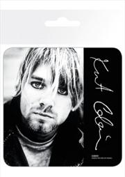 Kurt Cobain Signature (Single cork based drinks coaster)